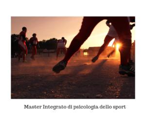 Master integrato di psicologia dello sport