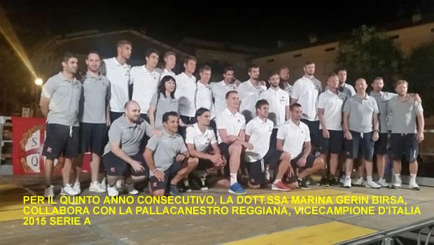 Pallacanestro Reggiana - Marina Gerin Psicologa Dello Sport.