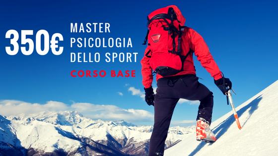 Master psicologia dello sport